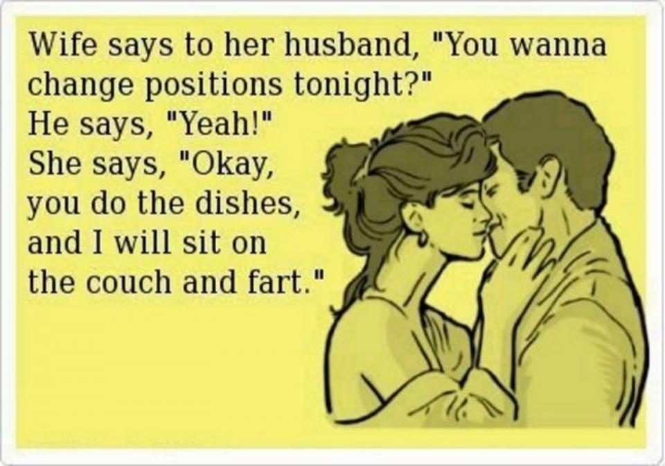Joke for the day! Lol